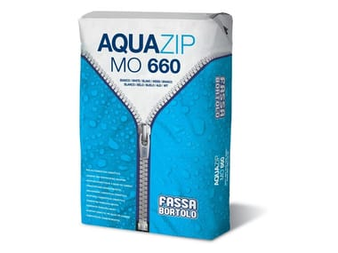 Cement-based waterproofing product AQUAZIP MO 660