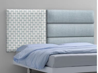 Upholstered fabric headboard ARABESQUE | Upholstered headboard