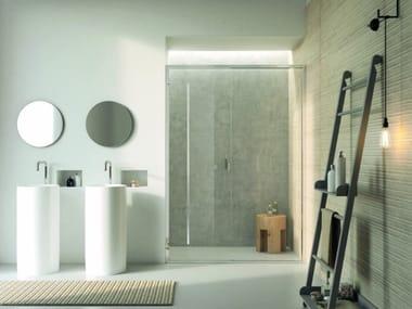 Box doccia a nicchia con porta scorrevole ARAXIS | Box doccia a nicchia