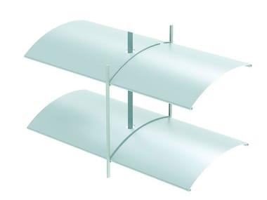 Frangisole orientabile scorrevole in alluminio estruso ARB 80 | Frangisole