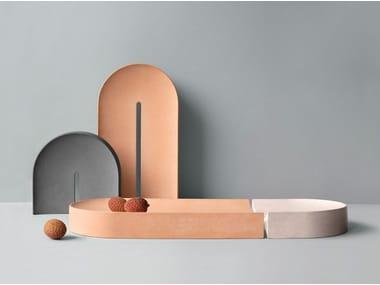 Oval porcelain tray ARC | Tray