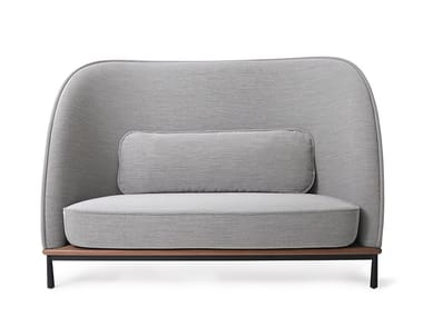 High-back fabric small sofa ARC   Small sofa