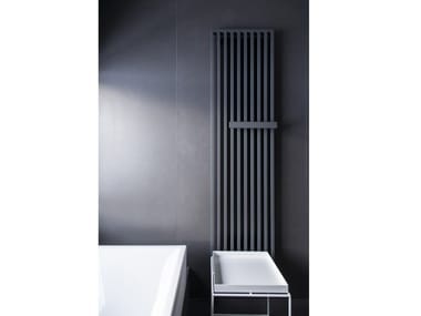 Vertical wall-mounted steel decorative radiator ARCHE PLUS
