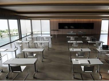 Banco scuola pieghevole ARCHIMEDE | Banco scuola pieghevole