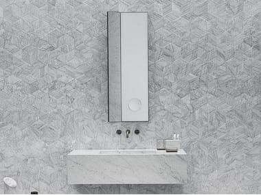 Miroir rectangulaire mural ARCHIMEDE | Miroir rectangulaire
