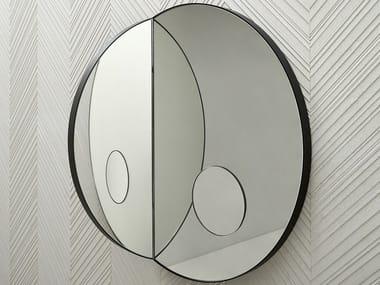 Round wall-mounted mirror ARCHIMEDE | Round mirror