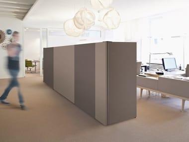 Fabric based acoustic panels - fixture line ARCHITECTS TEXTILE BUILD