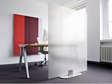 Glass screens - partition walls ARCHITECTS GLASS GROUND