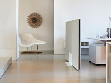 Fabric-based acoustic panels - partition walls ARCHITECTS TEXTILE GROUND