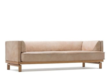 Leather sofa with electric motion ARCO