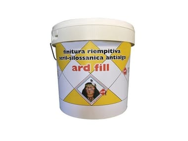 Finitura riempitiva acrilsilossanica antialga ARD FILL