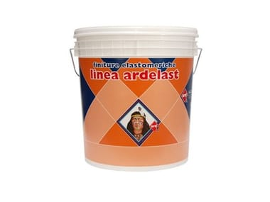 Rivestimento elastomerico acrilsilossanico rasato antialga ARDELAST INTONACHINO 1 MM -1,2 MM