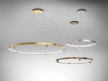 LED extruded aluminium pendant lamp ARENA