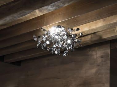 Lampada da soffitto in metallo ARGENT | Lampada da soffitto
