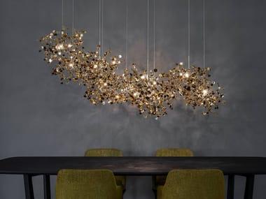 Halogen metal pendant lamp ARGENT | Metal pendant lamp