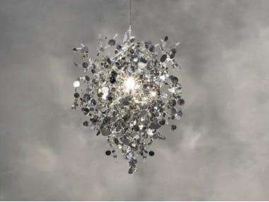 Halogen metal pendant lamp ARGENT N95