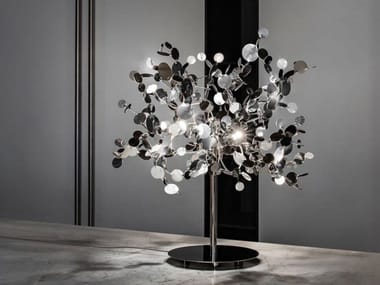 LED metal table lamp ARGENT | Table lamp
