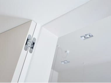 Concealed metal door hinge ARGENTA® INVISIDOOR® DL