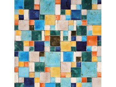 Terracotta mosaic ARGENTARIO
