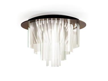 Lampadario a LED in vetro ARIA | Lampadario