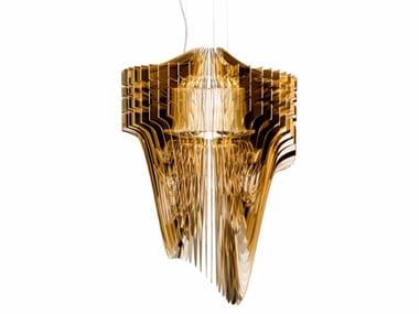 LED Lentiflex® and Cristalflex® pendant lamp ARIA GOLD