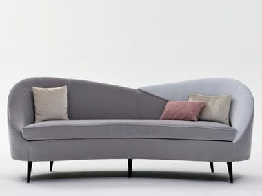 Fabric sofa LIBECCIO