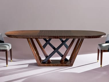 Rosewood dining table MAESTRALE
