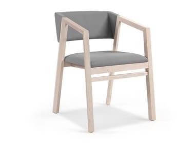 Cadeira estofada com braços ARIZONA