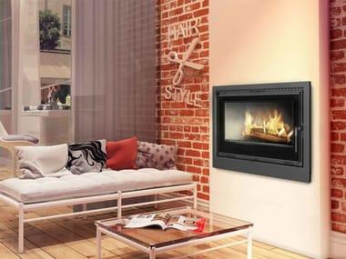 Steel Fireplace insert ARKE 95