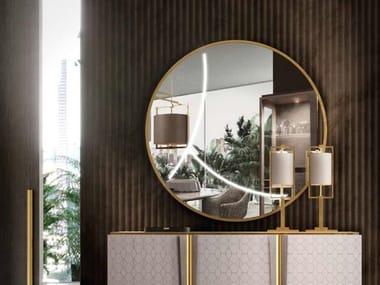 Espelho redondo de parede ARLO