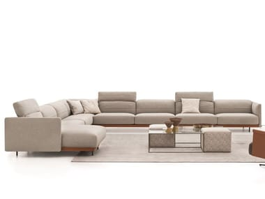 Corner sectional fabric sofa ARLOTT HIGH | Corner sofa