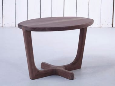 Oval wooden coffee table ARMADA | Coffee table