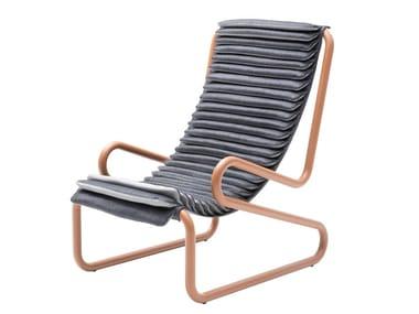 High-back fabric armchair with armrests ARMADILLO | Fabric armchair