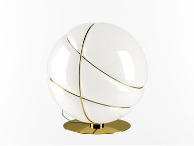 Lampada da tavolo in vetro soffiato ARMILLA | Lampada da tavolo