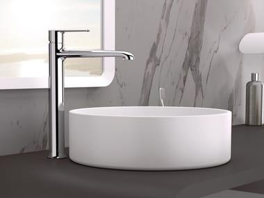 Miscelatore per lavabo da piano monocomando in ottone senza scarico ARMONIA | Miscelatore per lavabo senza scarico