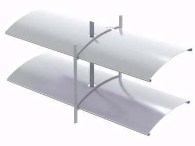 Frangisole scorrevole in alluminio ARO 65 | Frangisole
