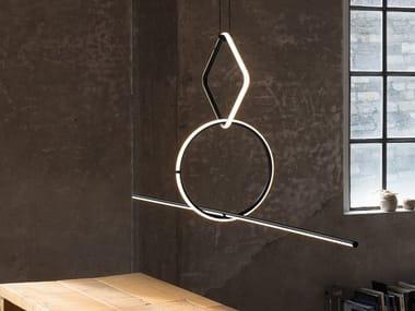 LED aluminium pendant lamp ARRANGEMENTS