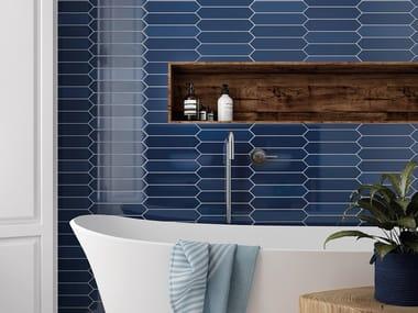 White-paste wall tiles ARROW