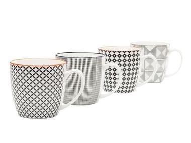 Ceramic materials mug ART CUISINE