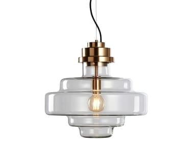 Lámpara colgante de vidrio ART | Lámpara colgante