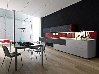 Cucine in vetro   Archiproducts