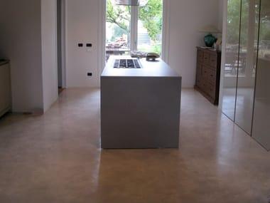 Continuous flooring