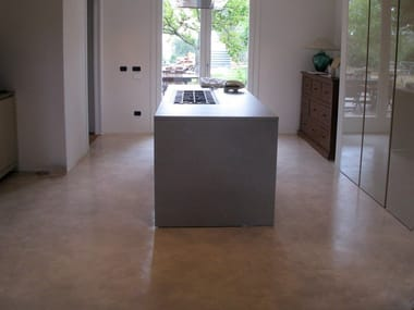 Ecologic resin wall/floor tiles ARTEVIVA CLOUD