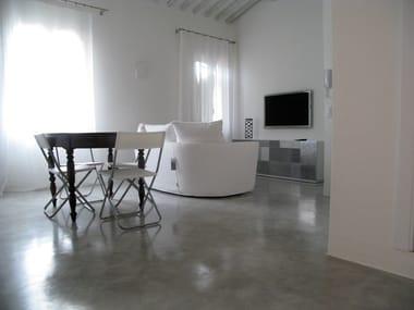 Ecologic resin wall/floor tiles ARTEVIVA METAL