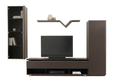 Sectional TV Wall System ARTIGO | Storage Wall