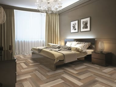 Ceramic granite flooring with wood effect ARTWOOD