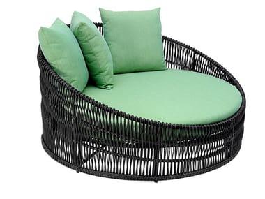 Round aluminium garden bed ARUBA | Garden bed