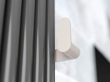 Porta asciugamani a gancio in acciaio per termoarredo ARYS | Porta asciugamani a gancio