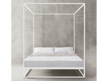 Steel canopy bed ASHA BALDAQUIN