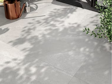 Indoor/outdoor porcelain stoneware wall/floor tiles with stone effect ASHIMA G